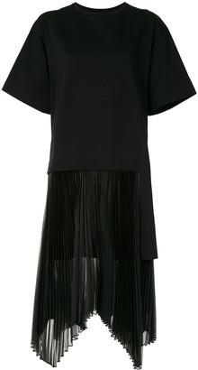 Juun.J Pleated Detail Dress