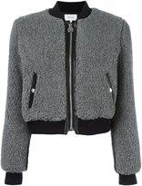 Carven fluffy bomber jacket
