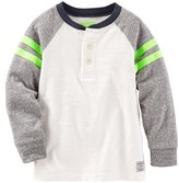 Osh Kosh Knit Polo Henley (Toddler/Kid) - Navy - 4