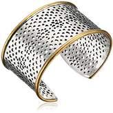 Lucky Brand Abstract Open Work Cuff Bracelet