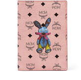 MCM Rabbit Passport Holder In Visetos