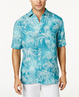 Tasso Elba Men's Tropical Foliage Shirt, Only at Macy's