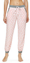 Kensie Dotted Lounge Jogger Pants