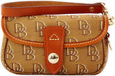 Dooney & Bourke Shadow DB Flap Wristlet