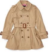 Ralph Lauren 2-6X Cotton Poplin Trench Coat