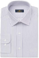 Club Room Men's Estate Classic Fit Stripe Dress Shirt, Created for Macy's