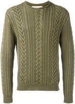 Denim & Supply Ralph Lauren cable-knit jumper - men - Cotton - S