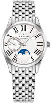 Zenith 03.2310.692/02.m2310 Elite moonphase stainless steel watch