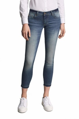 Salsa Wonder Push up Capri Jeans Blue