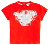 Armani Junior Armani Infant Boys' Splatter Logo Tee - Sizes 9-24 Months