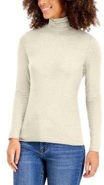 Style&Co. Style & Co Petite Turtleneck Top, Created for Macy's