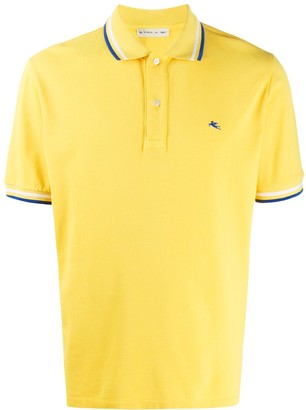 Etro Stripe-Trim Polo Shirt