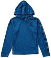 Jordan Big Boys 8-20 Dri-FIT Training Hooded Shirt