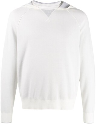 Ermenegildo Zegna Crew-Neck Hooded Jumper