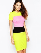 French Connection Lula Stretch Roundneck Dress