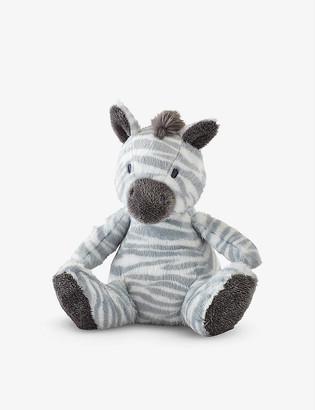 The Little White Company Zaza Zebra small soft toy 14cm