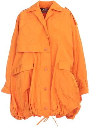 Jacquemus La Parka Ouro Trench Waterproof