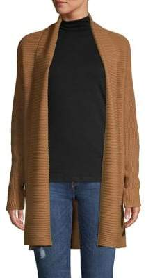 Lord & Taylor Knit Oversize Cardigan