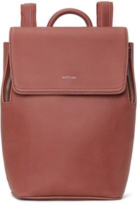 Matt & Nat Mini Fabi Vegan Leather Backpack