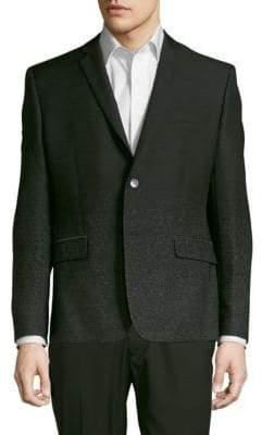 Versace Long-Sleeve Speckled Jacket