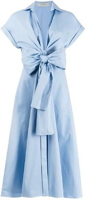 Silvia Tcherassi Sampuesana Short Sleeve Midi Dress