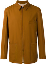 Lemaire zipped jacket - men - Cotton/Viscose/Virgin Wool - 48