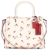 Coach Rogue cherry-printed leather tote