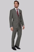 Moss Bros Regular Fit Grey Twill Suit