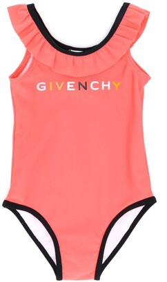 Givenchy Kids Ruffle-Trimmed Swimsuit