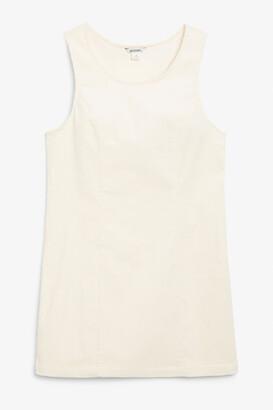 Monki Sleeveless corduroy dress