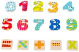 Boikido Wooden Magnetic Numbers and Signs Set