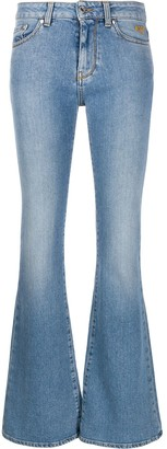 MSGM Flared Style Jeans