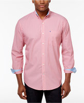 Izod Men's Striped Stretch Performance Shirt, Only At Macy's