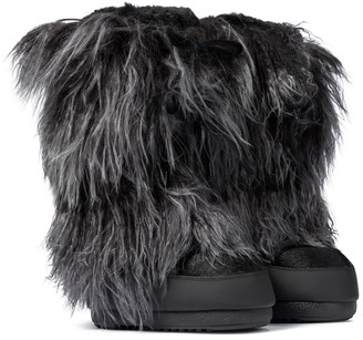 Moon Boot Classic Night shearling snow boots