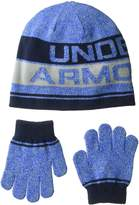 Under Armour Little Boys Knit Beanie and Glove Combo