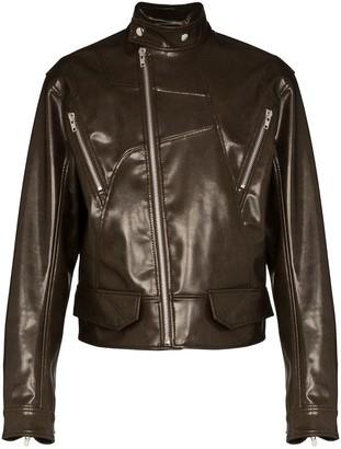 GmbH Nur vegan leather jacket