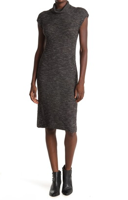 Max Studio Cap Sleeve Sweater Dress