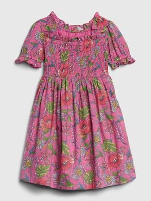 Gap Toddler Smocked Floral Dress