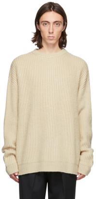 Hope Beige Wool North Sweater