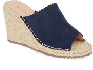 Very Volatile Mused Espadrille Wedge Slide Sandal