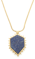 Rebecca Minkoff Spiked Shield Pendant Necklace