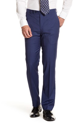 "Calvin Klein Solid Bright Blue Wool Suit Separates Pants - 30-34"" Inseam"