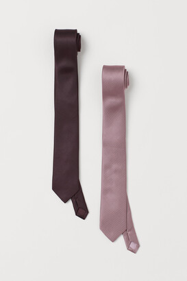 H&M 2-pack Ties