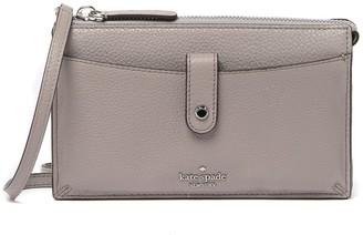 Kate Spade Jackson Small Tab Leather Crossbody Bag