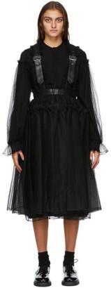 Noir Kei Ninomiya Black Suspender Dress