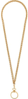 Chanel Pre Owned 1982 Loupe long necklace