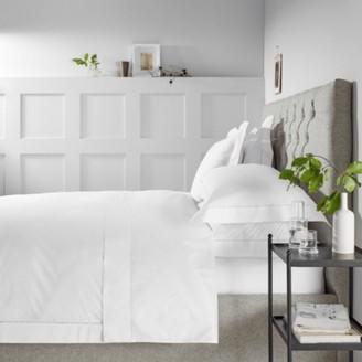 The White Company Arles Duvet Cover, White, Double