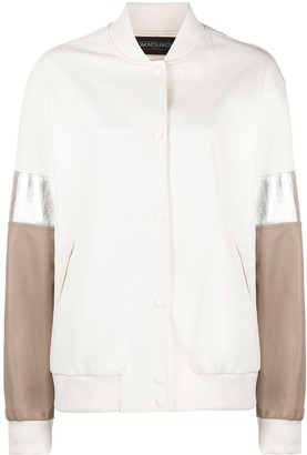Simonetta Ravizza Colour-Block Bomber Jacket