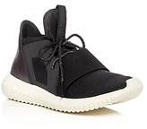 adidas Women's Tubular Defiant Metallic Lace Up Sneakers