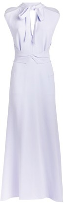 Roland Mouret Katios Tie-Neck Dress
